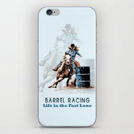 Barrel Racing - Life in the Fast Lane iPhone Skin
