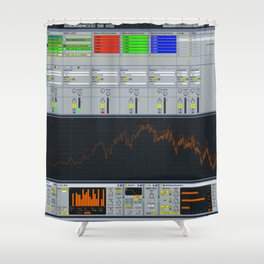ABLETON Shower Curtain