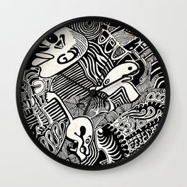 African Dream Wall Clock