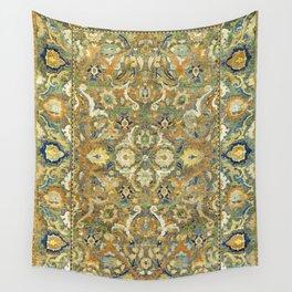 Safavid 'Polonaise' 17th Century Persian Carpet Print Wall Tapestry