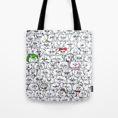 Flat-Faced Kitties Tote Bag