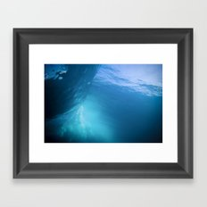 Under The Barrel Framed Art Print