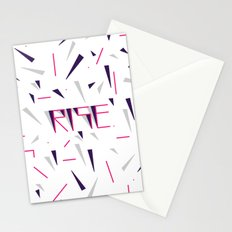 Rise No.2 - White Stationery Cards