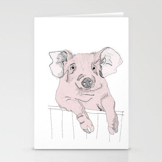Piggywig Stationery Cards