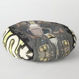 Bender's Discombobulation  Floor Pillow