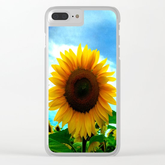 The sun will come out tomorrow Clear iPhone Case