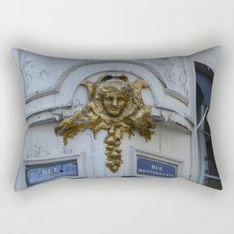 Angel of the Rue Montorgueil Rectangular Pillow