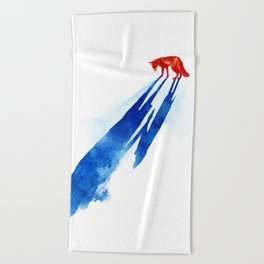 A distant memory Beach Towel