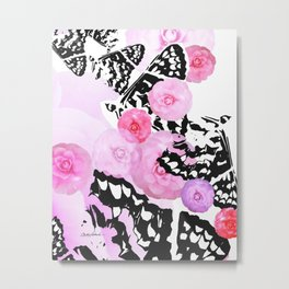 Camellia Blush Metal Print