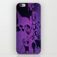 murakami iPhone & iPod Skins featuring Graduation by Jide