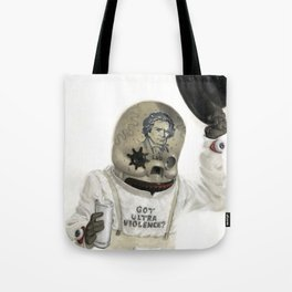 Clockwork Calavera Tote Bag