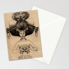CANCER - Black and White Version Stationery Cards