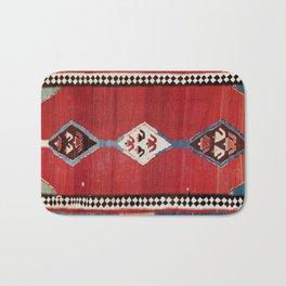 Bijar Antique Kurdish Persian Kilim Print Bath Mat