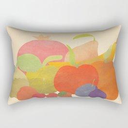 A Bundle of Fruit Rectangular Pillow