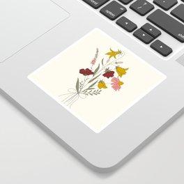Wildflowers Bouquet Sticker