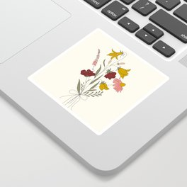 Wildflowers Bouquet Sticker