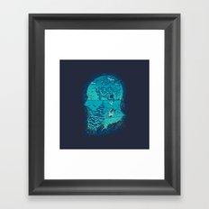 I Am War Framed Art Print