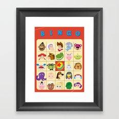 bingo! Framed Art Print
