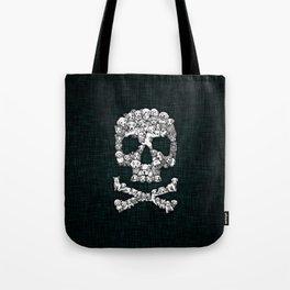 Skull Dogs Halloween Tote Bag