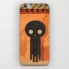 u o m o n e r o iPhone & iPod Skin