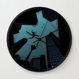 Parkour Wall Clock