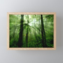 Joyful Forest Framed Mini Art Print