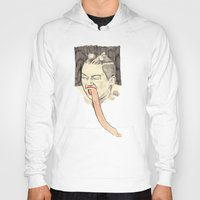 miley cyrus Hoodies featuring Miley Cyrus Portrait by withapencilinhand