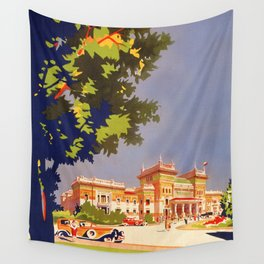 Salsomaggiore Italy 1920s Wall Tapestry