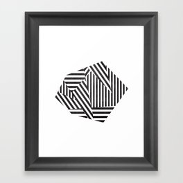 Dazzle 01. Framed Art Print