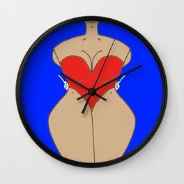 Safe Word Memorized Wall Clock