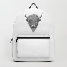 Highland bull Backpack