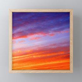 The arrival of night Framed Mini Art Print