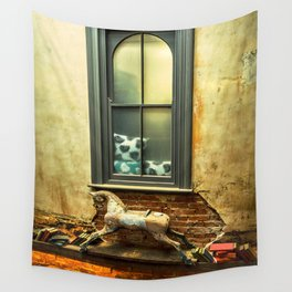 Rocking Horse Wall Tapestry