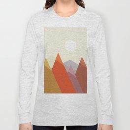 Abstract landscape V Long Sleeve T-shirt