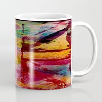 union jack Mugs featuring Union Jack  by ChandaElaine