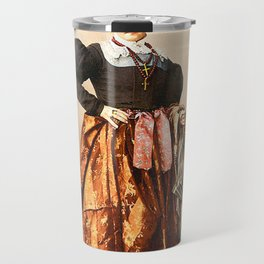 European peasant Travel Mug