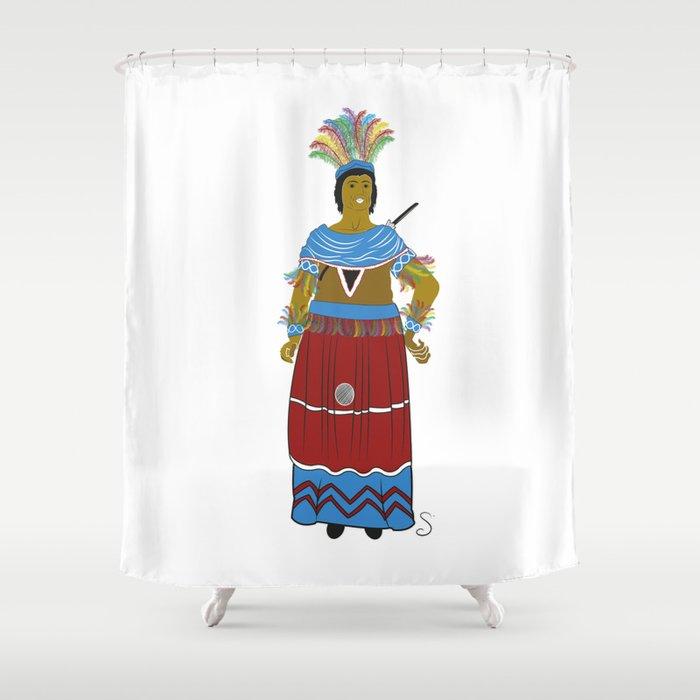 El Indio de Reus Shower Curtain