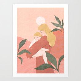 Mother's Comfort (blond) Art Print