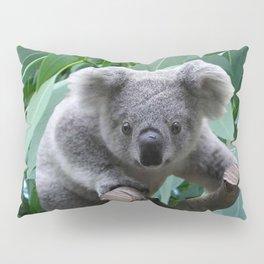 Koala and Eucalyptus Pillow Sham