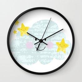 Kawaii Twinkle Little Star Wall Clock