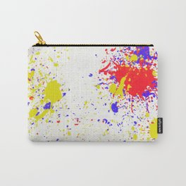 Action Painting No 8 By Chad Paschke Carry-All Pouch
