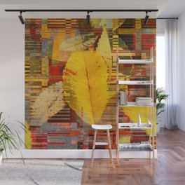 fallin' into digital Wall Mural