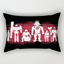 Plastic Villains  Rectangular Pillow