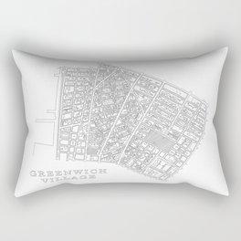 Greenwich Village Rectangular Pillow