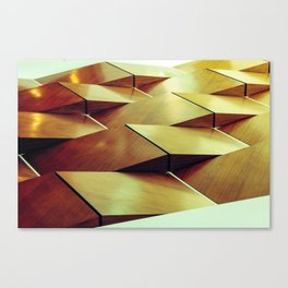 floor roof wood Canvas Print
