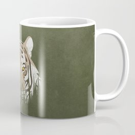Hiding Tiger Coffee Mug