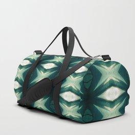 Green Stars Pattern Duffle Bag