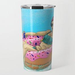 Donut Floatie - Color Travel Mug