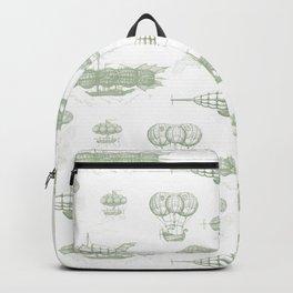 Airship Pattern Backpack