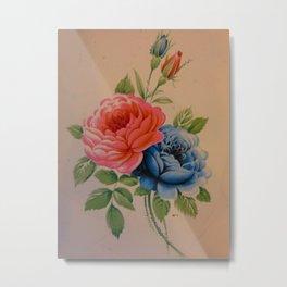 Vintage Roses 10 Metal Print